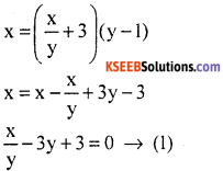 KSEEB Solutions for Class 10 Maths Chapter 3 Pair of Linear Equations in Two Variables Ex 3.7 6