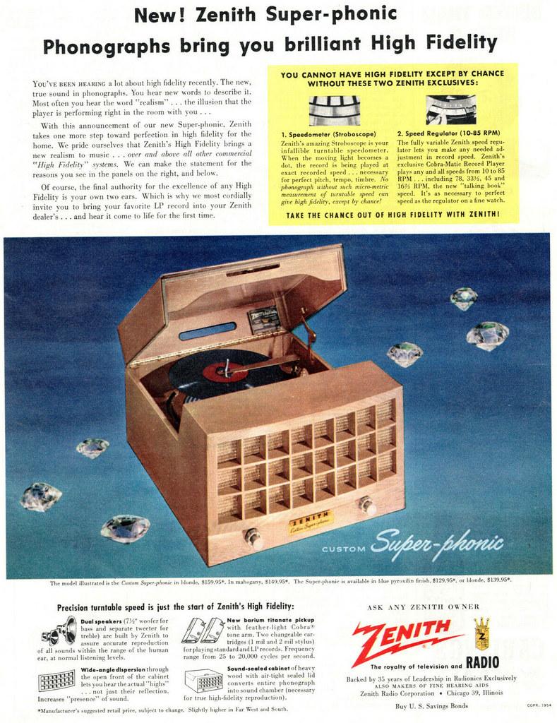 Zenith 1954
