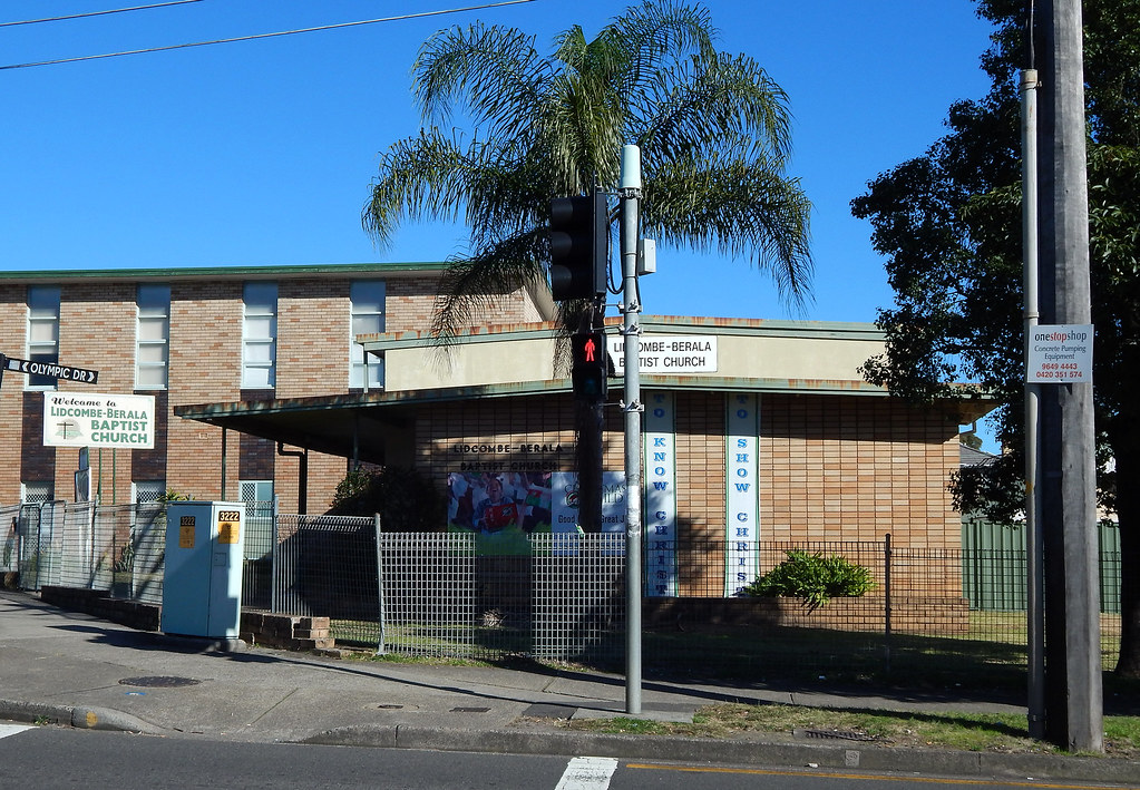Lidcombe Berala Baptist Church, Lidcombe, Sydney, NSW.