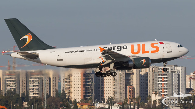 TLV - ULS Cargo Airbus A310-300 Freighter TC-SGM
