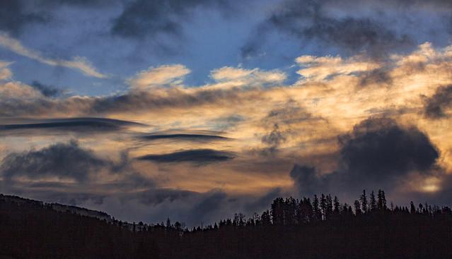 Un ciel de traine...