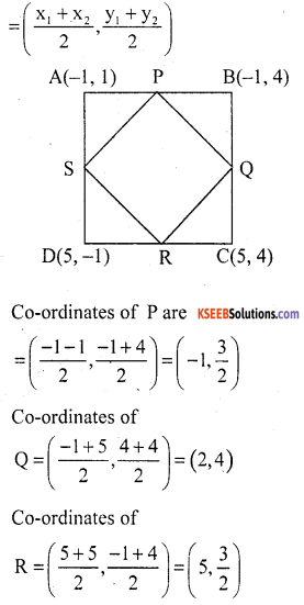 KSEEB Solutions for Class 10 Maths Chapter 7 Coordinate Geometry Ex 7.4 20