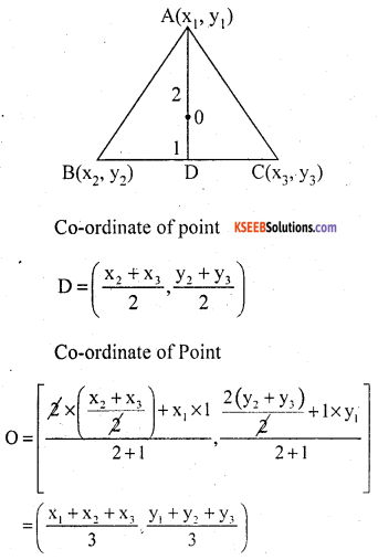 KSEEB Solutions for Class 10 Maths Chapter 7 Coordinate Geometry Ex 7.4 19