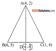 KSEEB Solutions for Class 10 Maths Chapter 7 Coordinate Geometry Ex 7.4 13