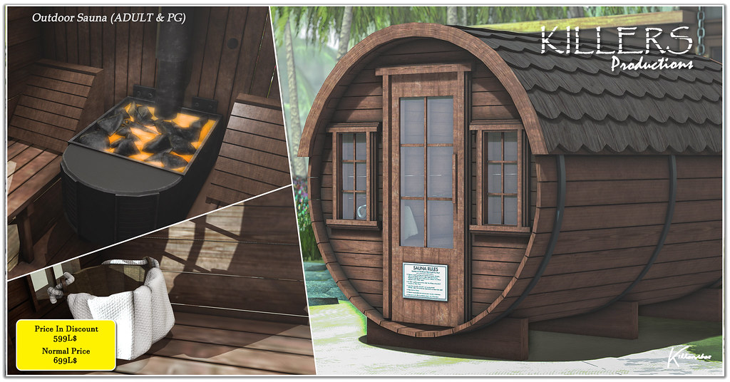 Outdoor Sauna On Discount @ Cosmo Starts from 9th March Till 21st March