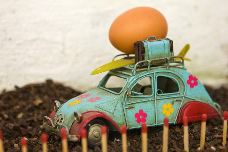 Fotografia em Palavras: Criatividade: Carro, Ovo e Fósforo