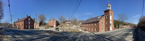 03450 harrisville nh historic mill town bricks newengland newhampshire village