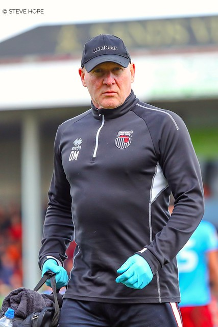 Dave Moore, Grimsby Town physio