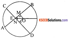 KSEEB Solutions for Class 10 Maths Chapter 4 Circles Additional Questions 12
