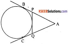 KSEEB Solutions for Class 10 Maths Chapter 4 Circles Additional Questions 3