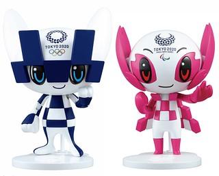 簡單組出 2020 東京奧運/帕運吉祥物!BANDAI SPIRITS「未來永遠郎、染井吉(ミライトワ、ソメイティ)」展示組裝模型