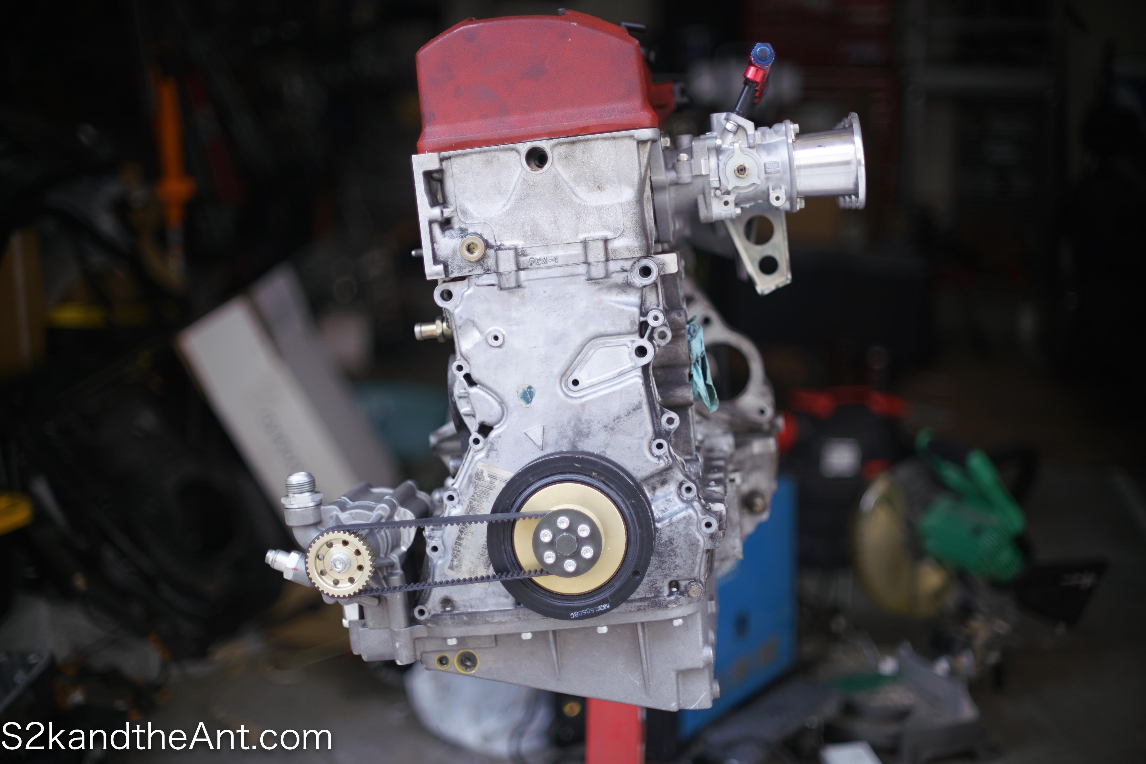 S2000 Toda Racing Dry Sump