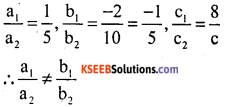 KSEEB Solutions for Class 10 Maths Chapter 3 Pair of Linear Equations in Two Variables Additional Questions 5