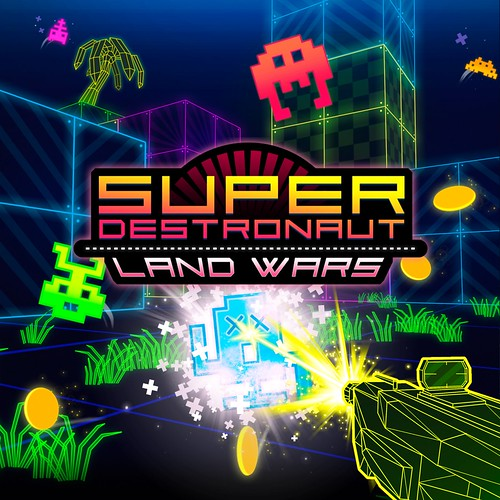Thumbnail of Super Destronaut: Land Wars on PS4