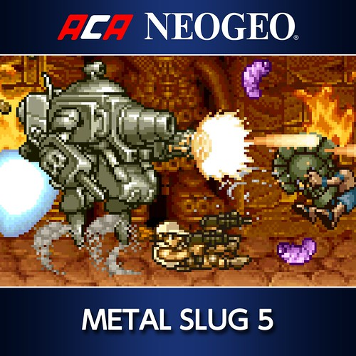 Thumbnail of ACA NEOGEO METAL SLUG 5 on PS4