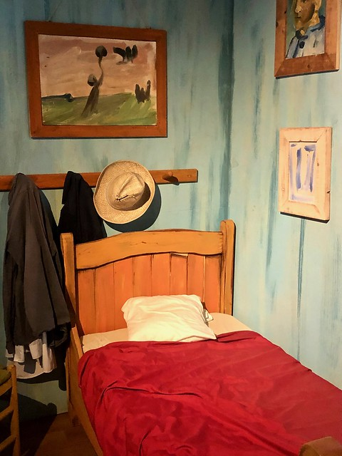 Van Gogh's Bedroom, a re-creation