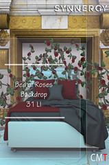 Bed of Roses Backdrop @ Pose Fair