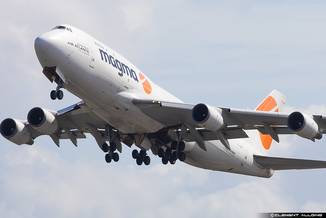 Air Atlanta Icelandic Boeing 747-481(BCF) cn 24801 / 805 TF-AMP