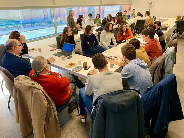 18/02/2020 - Primer café literario de la edición 2020 de Leyendo en Clave Jurídica