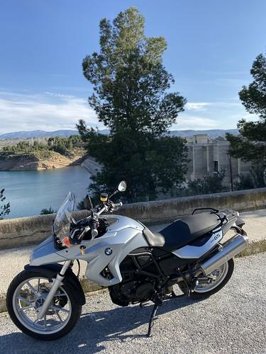 Paseo con la moto: Pozo Alcón.