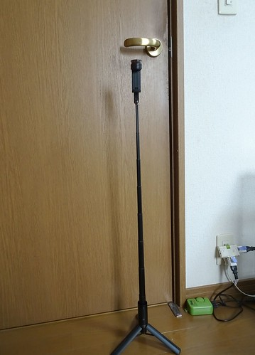 高さ Velbon (ベルボン) Coleman 高級スマホ自撮りスタンド Selfie MultiStand Black スマホ三脚 8段 Bluetooth ワイヤレスリモコン付属 302618