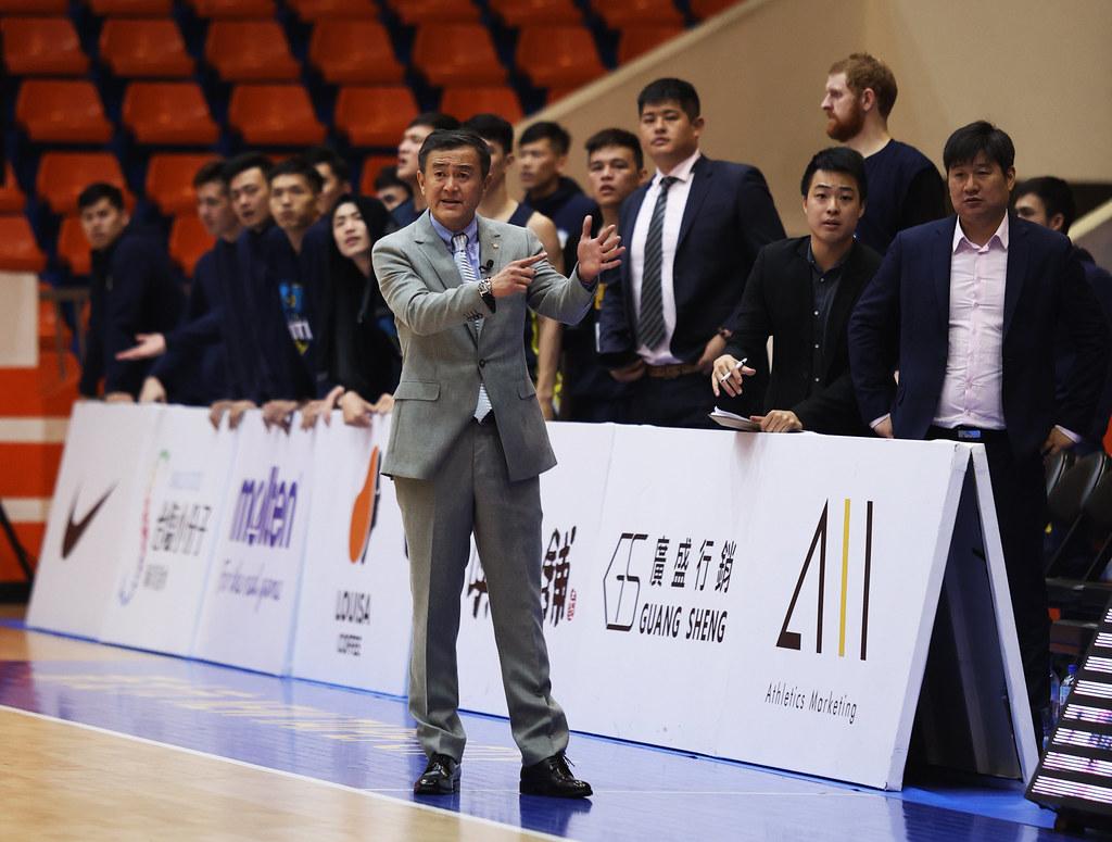 九太總教練劉嘉發。(籃協提供)