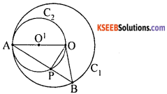 KSEEB Solutions for Class 10 Maths Chapter 4 Circles Additional Questions 18