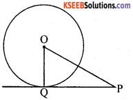 KSEEB Solutions for Class 10 Maths Chapter 4 Circles Additional Questions 5