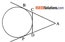 KSEEB Solutions for Class 10 Maths Chapter 4 Circles Additional Questions 2