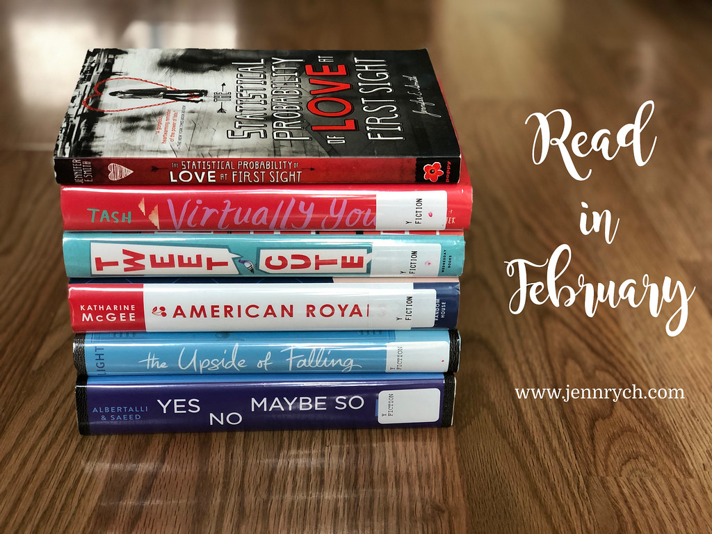 Books I read this February 2020 | Reading & Writing Rych www.jennrych.com
