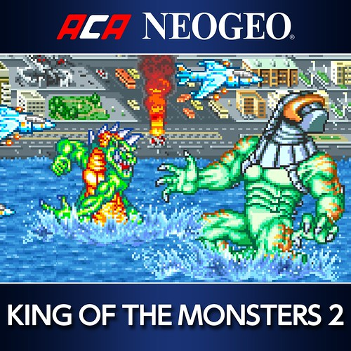 Thumbnail of ACA NEOGEO KING OF THE MONSTERS 2 on PS4