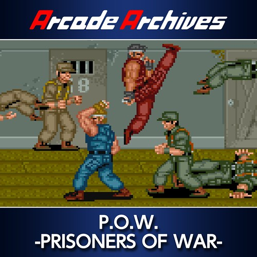 Thumbnail of Arcade Archives P.O.W. -PRISONERS OF WAR- on PS4