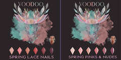 Voodoo - Spring Lace Almond Nails Legacy