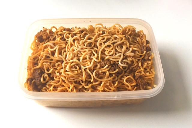 Dan dan noodles - Leftovers / Dan Dan Nudeln - Resteverbrauch