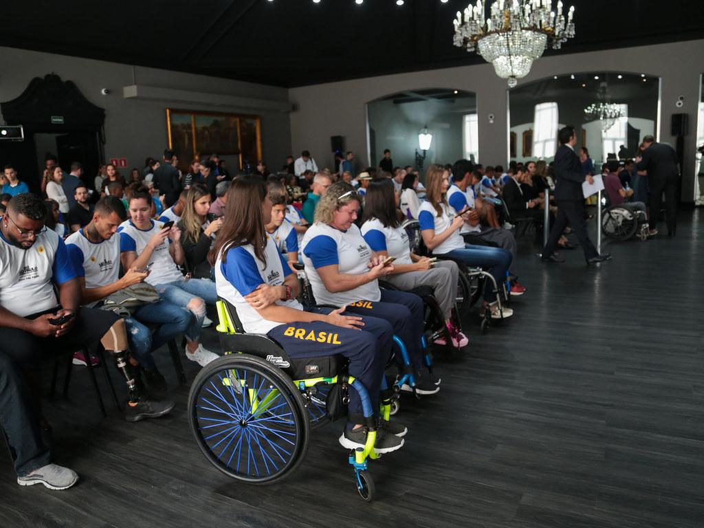 Apresentação do TIME SP Paralímpico