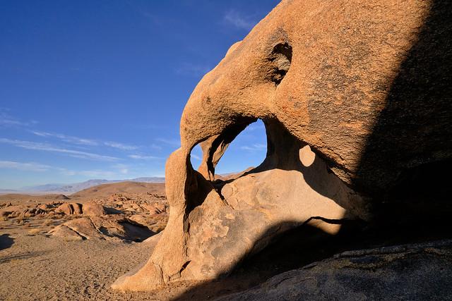 Cyclops Skull Arch - Alabama Hills, California