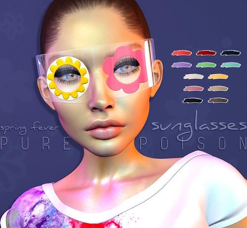 Pure Poison - Spring Fever Sunglasses AD