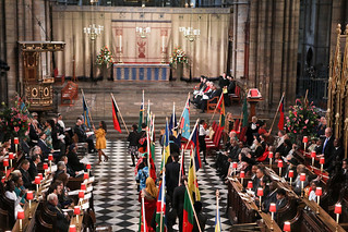 Flag bearers at the Commonwealth Day service | by Commonwealth Secretariat