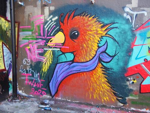 Graffitis square Zaïro – série 24