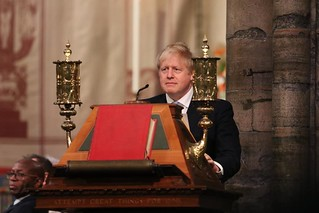 PM Boris Johnson speaking | by Commonwealth Secretariat