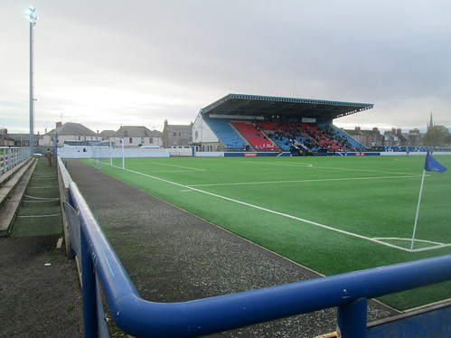 Main Stand, Links Park from Northeast Corner