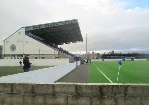 Main Stand, Links Park from Southeast Corner