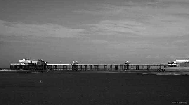 North Pier. Blackpool. March 2020