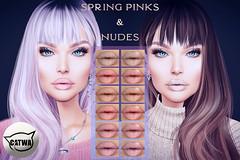 Voodoo Spring Nude & Pink Catwa