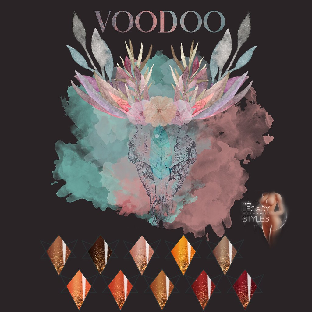 Voodoo – Honey Bee Almond Nails Legacy