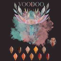 Voodoo - Honey Bee Almond Nails Legacy
