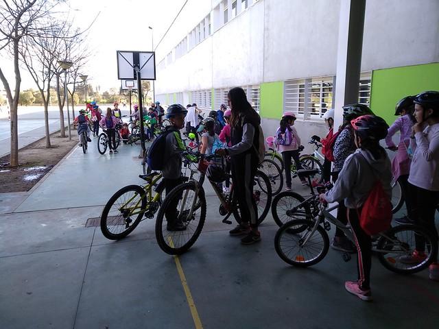 Ruta en bici 5º