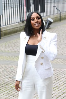 Singer Alexandra Burke arriving at Westminster Abbey | by Commonwealth Secretariat