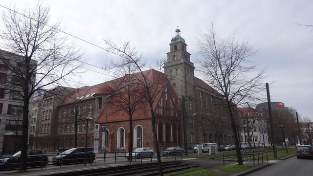 1905/06 Berlin Handelshochschule in Neorenaissance von Wilhelm Cremer/Richard Wolffenstein Spandauer Straße 1 in 10178 Spandauer Vorstadt
