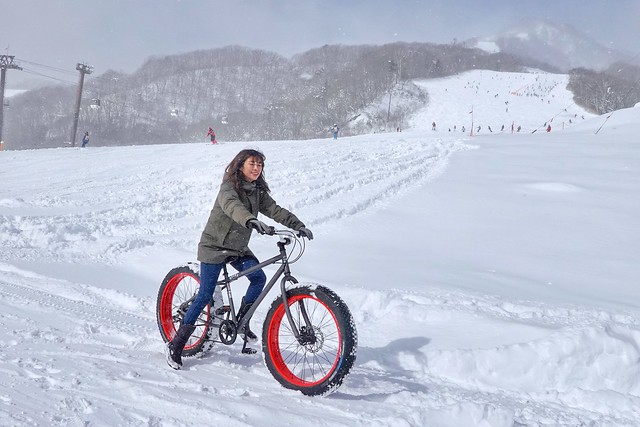 Hakuba Tsugaike WOW Snow Bike